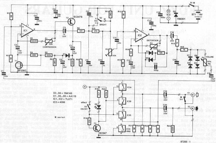 dan armstrong wiring diagram index of diy schematics distortion boost and overdrive  index of diy schematics distortion boost and overdrive