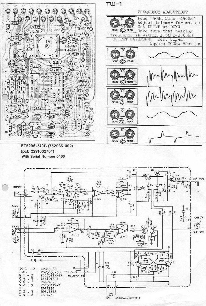 BOSS TW 1 boss auto wah schematic index of inf wah autowah vesselyn com Boss Plow Wiring Harness Diagram at panicattacktreatment.co